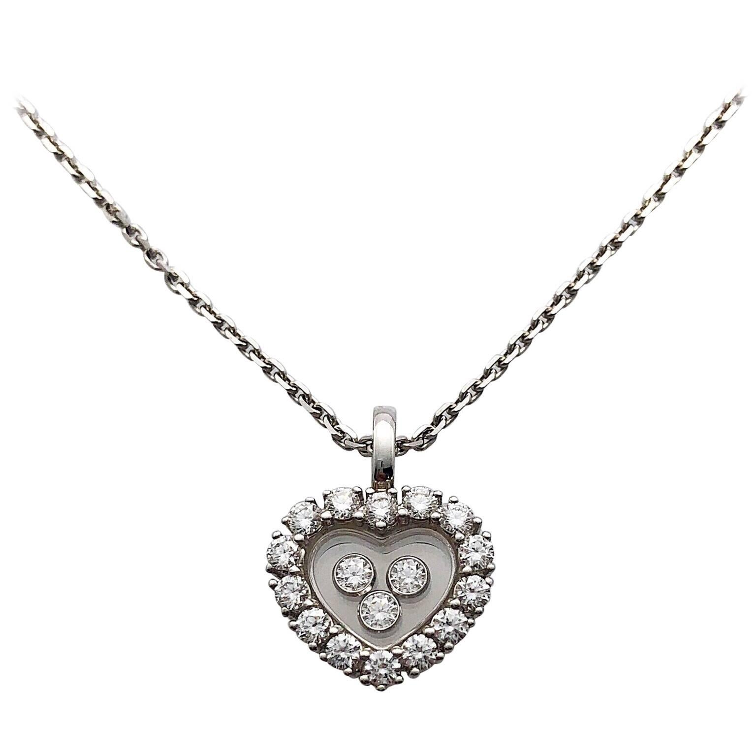 Diamonds Icons Heart Pendant