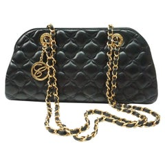 Chopard BLACK quilted lambskin Imperial handbag