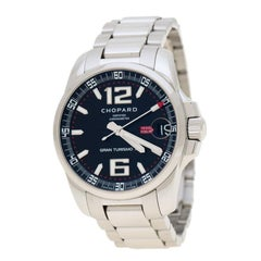 Chopard Black Steel Mille Miglia Gran Turismo XL 8997 Men's Wristwatch 44 mm