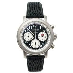 Chopard Black Titanium Happy Mille Miglia Chronograph Men's Wristwatch 40.5MM