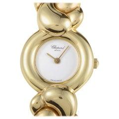 Chopard Casmir 18 Karat Yellow Gold Ladies Quartz Bangle Watch 43/5854 D