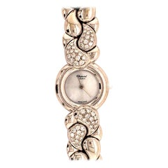 Chopard Casmir White Gold Diamond Ladies Wristwatch
