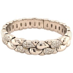 Chopard Casmir White Gold Diamond Open Bracelet