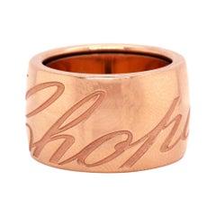 Chopard Chopardissimo 18 Karat Rose Gold Band Ring