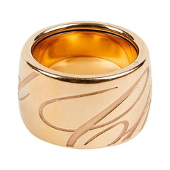 CHOPARD Chopardissimo Pink Gold Ring