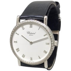 Chopard Classic White Gold & Diamond White Dial Mechanical Ladies Watch 17/3154