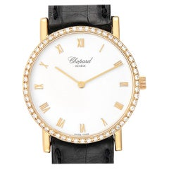 Chopard Classique Yellow Gold Diamond Men's Watch 3154