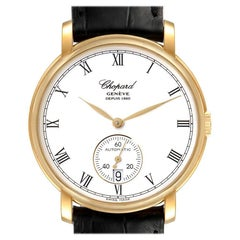 Chopard Classique Yellow Gold White Dial Men's Watch 1223 Box Papers