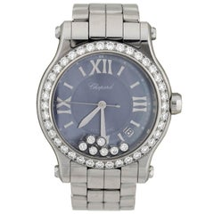 "Chopard Contemporary ""Happy Sport Limited Edition USA"" Diamond Watch"