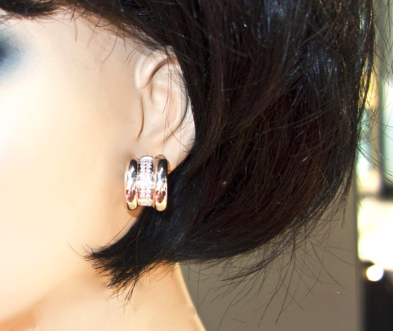 Chopard Diamond Earrings In Excellent Condition For Sale In Aspen, CO