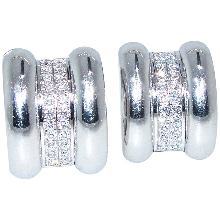 Chopard Diamond Earrings For Sale