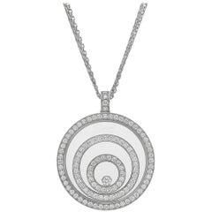 "Chopard Diamond ""Happy Spirit"" Pendant Necklace"