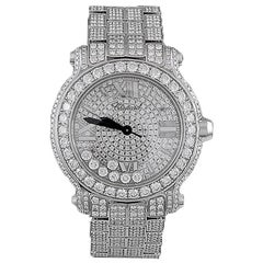 Chopard Diamond Happy Sport Watch