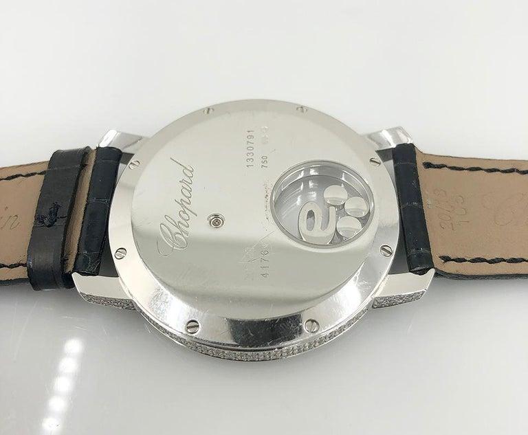 Women's or Men's Chopard Diamond Happy Sports Watch For Sale