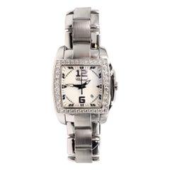 Chopard Diamond White Dial Two O Ten Watch