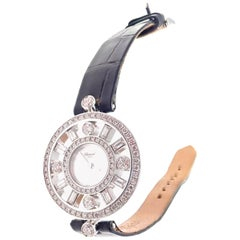 Chopard Diamond White Gold Watch