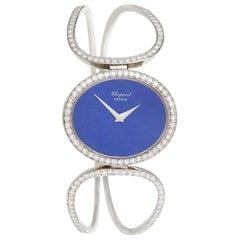 Chopard Geneva Late 20th Century Diamond Lapiz Lazuli and Gold Watch