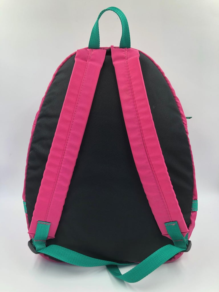 Women's or Men's Chopard Genève Pink Nylon Backpack with Battery Operated Clock