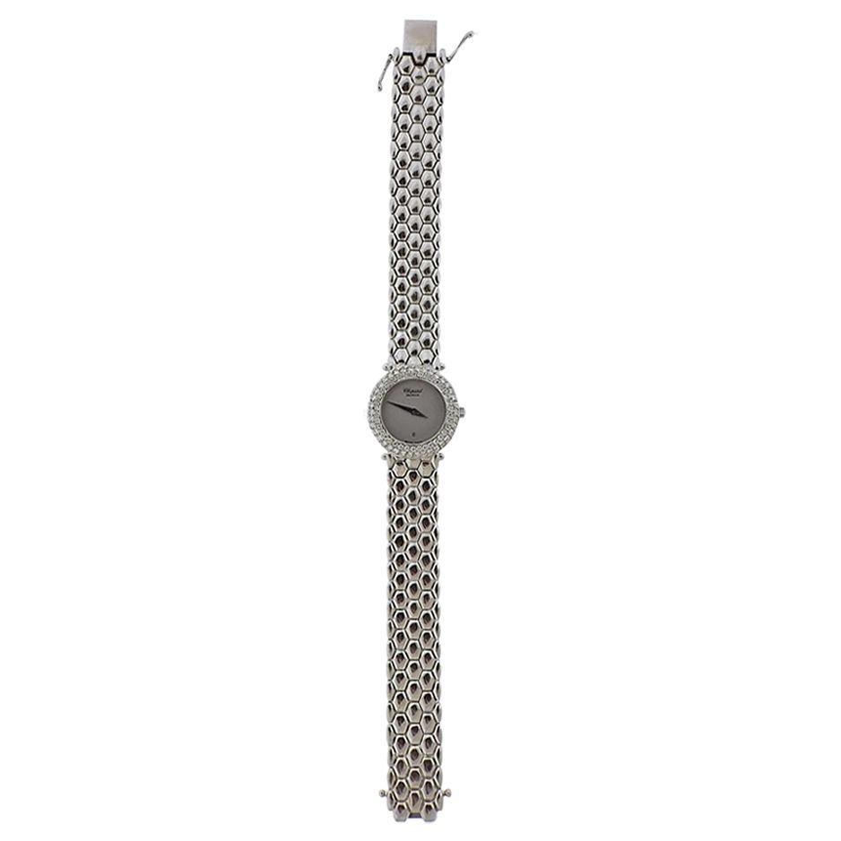 Chopard Gold Diamond Ladies Watch
