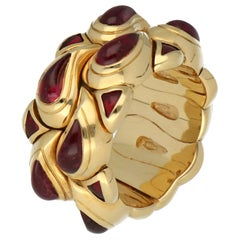 Chopard Gold Rubellite Tourmaline Casmir Ring