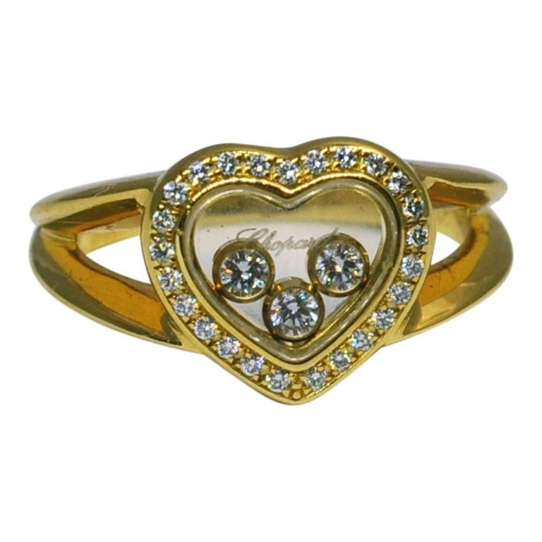 Happy Hearts Ring Chopard Finger