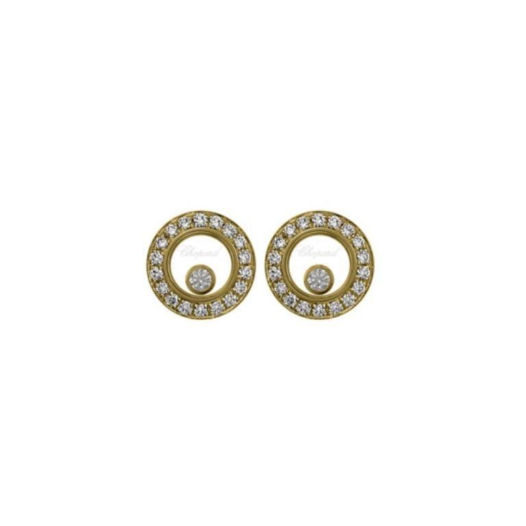 Chopard Happy Diamond Earring 83A017/0201