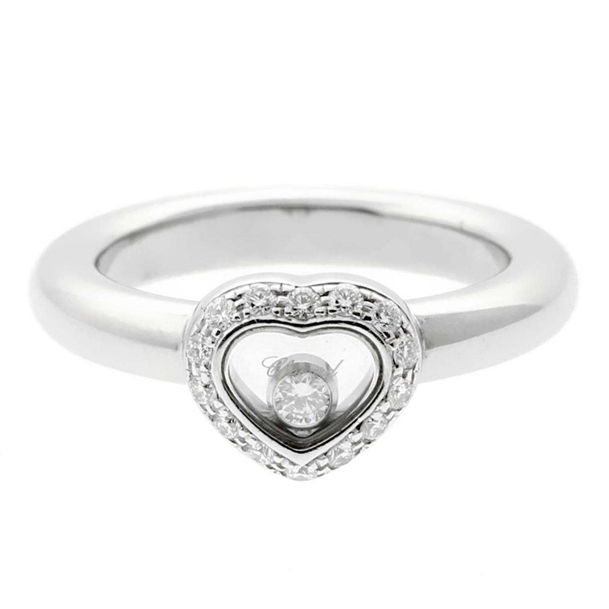 feef432216a Chopard Happy Diamond Rings - 55 For Sale on 1stdibs