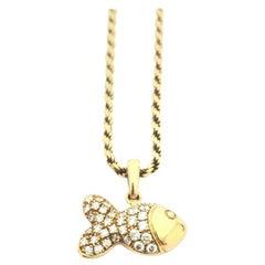 Chopard Happy Diamond Happy Fish Necklace 79/4702/0