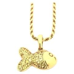 Chopard Happy Diamond Happy Fish Necklace 79/4702/10