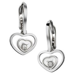Chopard Happy Diamond Heart Earring 837482/1001