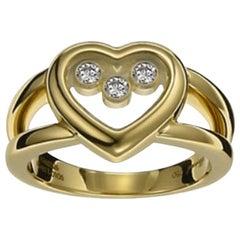 Chopard Happy Diamond Heart Ring 824611-0110