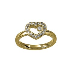 Chopard Happy Diamond Heart Ring 82A054/0210