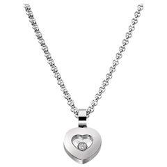 Chopard Happy Diamond Heart-Shape Pendent 792897-1001