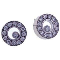 Chopard Happy Diamond Round Earring
