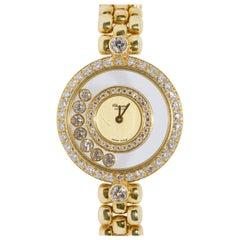 Chopard Happy Diamonds, 18 Karat Solid Gold, Ladies Watch, Ref. 4097