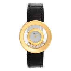 Chopard Happy Diamonds 18 Karat Yellow Gold Ladies Watch 20/6923