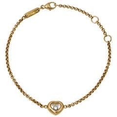 Chopard Happy Diamonds 18K Yellow Gold Bracelet