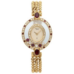 Chopard Happy Diamonds 200296-5181, Case, Certified and Warranty