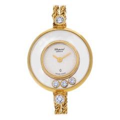 Chopard Happy Diamonds 4049, White Dial, Certified and Warranty