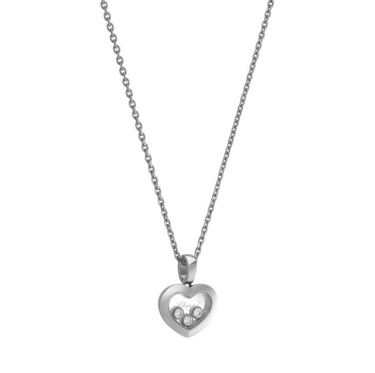 Chopard Happy Diamonds Happy Heart Pendent 79A611/1001 In New Condition For Sale In Wilmington, DE