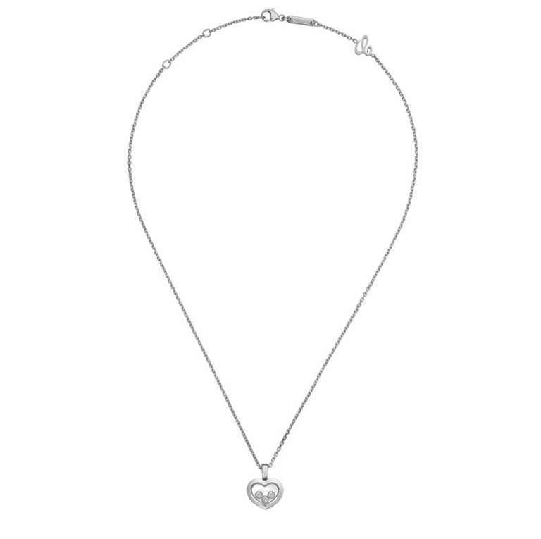 Women's or Men's Chopard Happy Diamonds Happy Heart Pendent 79A611/1001 For Sale
