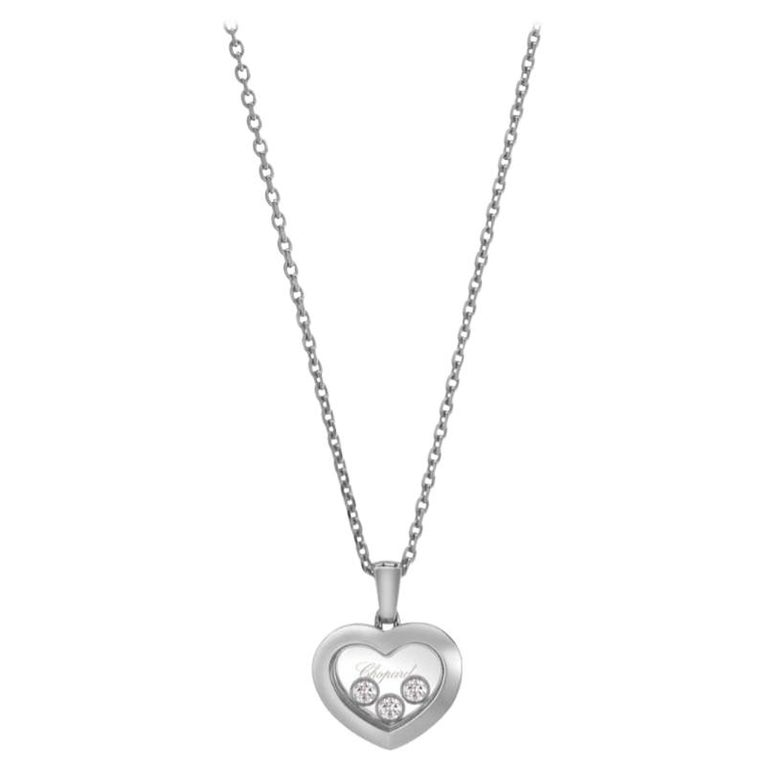 Chopard Happy Diamonds Happy Heart Pendent 79A611/1001 For Sale