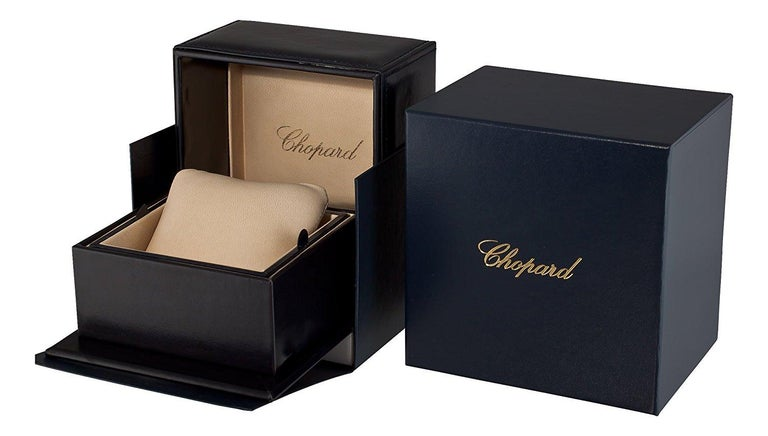 Women's or Men's Chopard Happy Diamonds Heart Bracelet 85A054/0001 For Sale