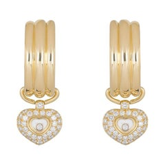 Chopard Happy Diamonds Heart Hoop Earrings