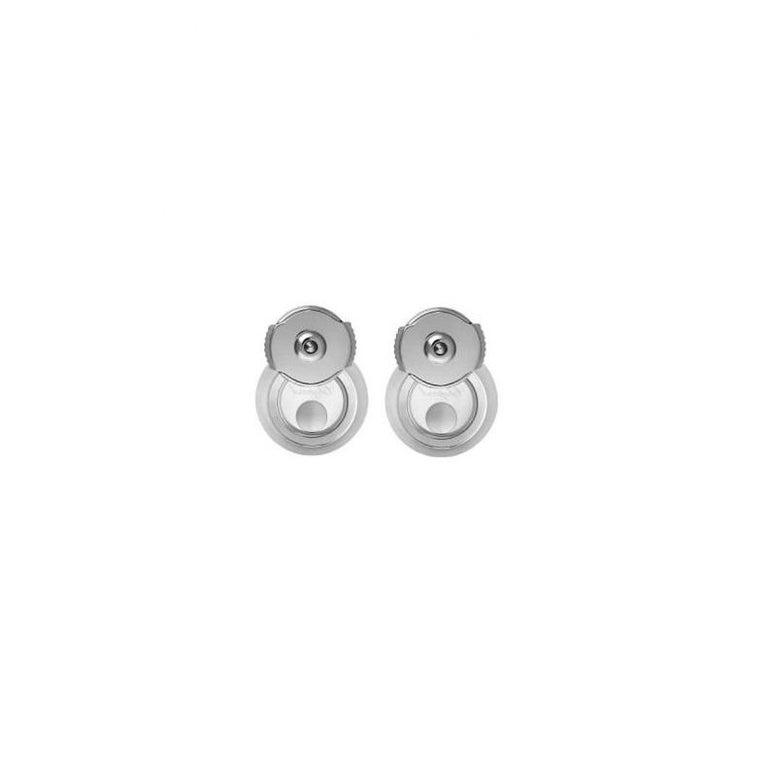 Women's or Men's Chopard Happy Diamonds Icons Earrings Pins 83a017/1201 For Sale