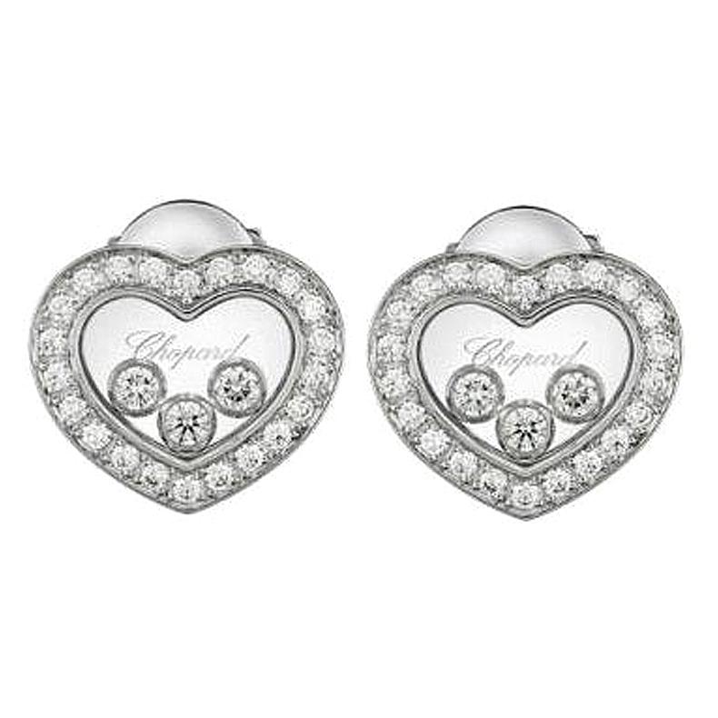 Chopard Happy Diamonds Icons Earrings Pins 83a611/1201