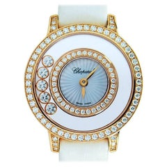 Chopard Happy Diamonds Icons Watch, 18K Rose Gold All Original Diamonds