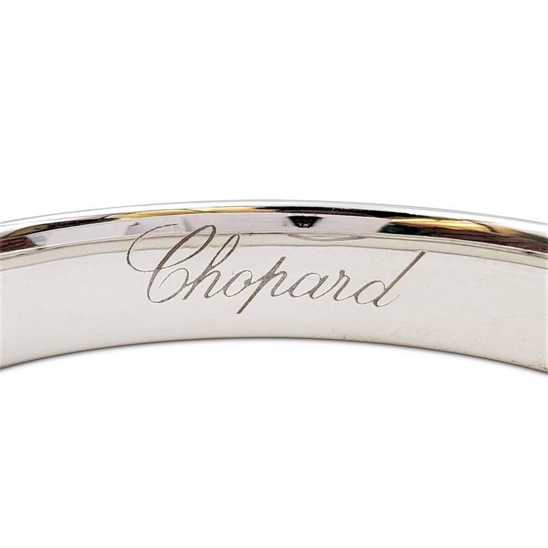 Women's or Men's Chopard 'Happy Diamonds LOVE' White Gold Bracelet
