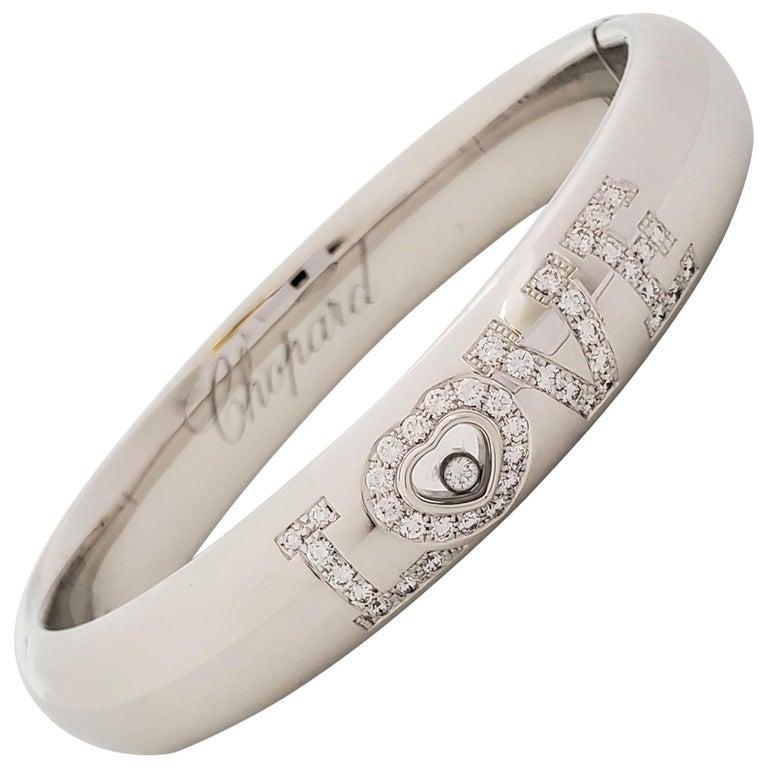 Chopard 'Happy Diamonds LOVE' White Gold Bracelet