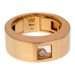 Chopard Happy Diamonds Yellow Gold Band Ring